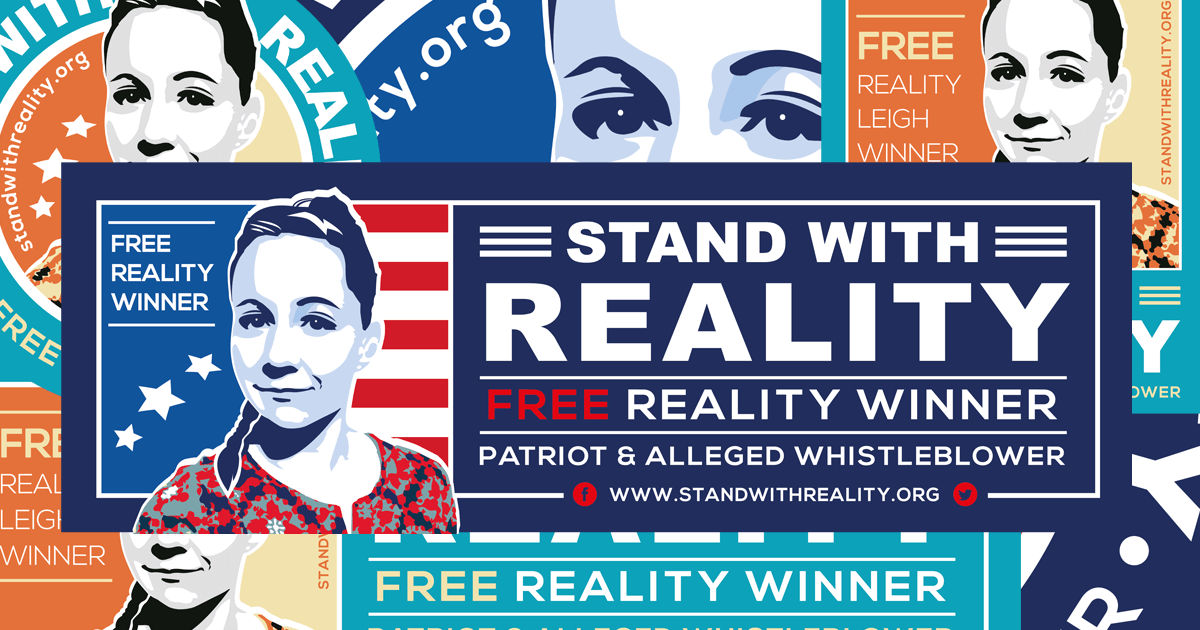 "Press Release: New ""Stand with Reality"" Support Group and Defense Fund"