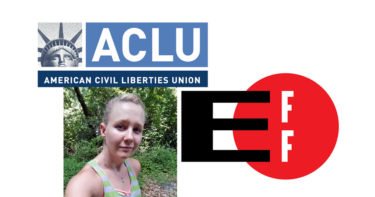 ACLU and EFF Speak Up for Reality Winner