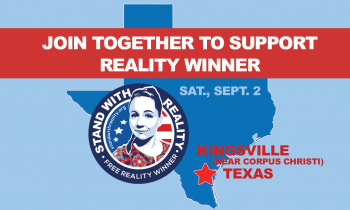Gather to Support Reality in Kingsville, Texas — Saturday, September 2nd