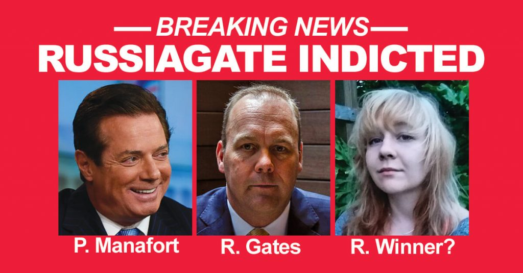 russiagate indicted