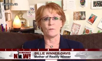 Democracy Now! interview with Reality Winner's mom