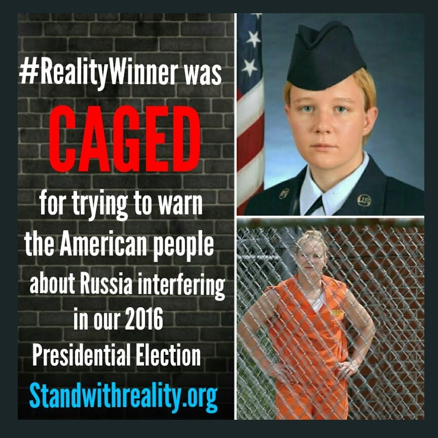 Reality Caged For Trying To Help
